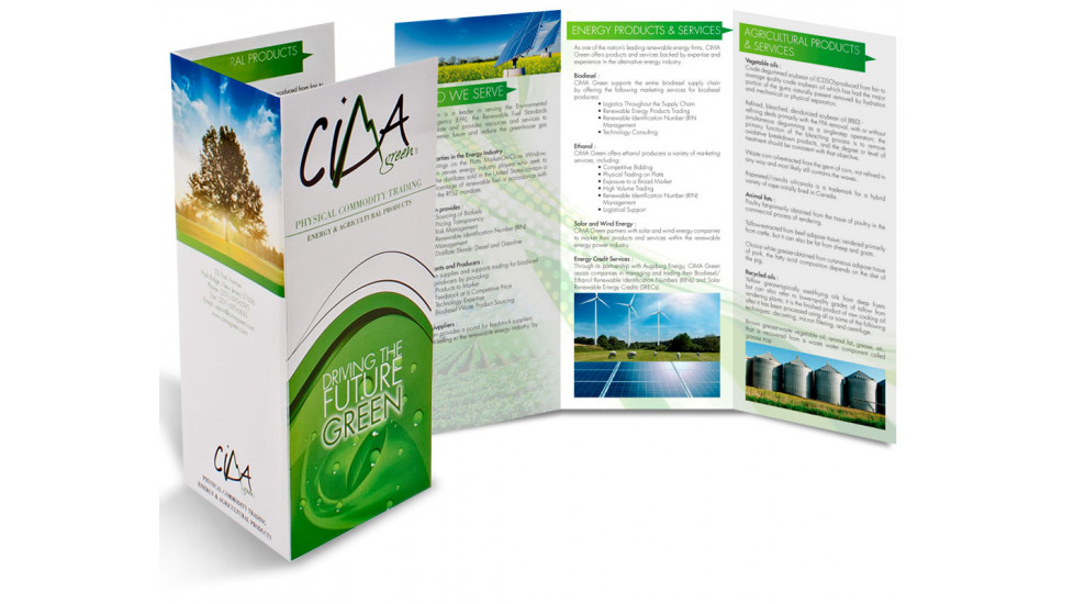 Brochures Légal 8.5x14