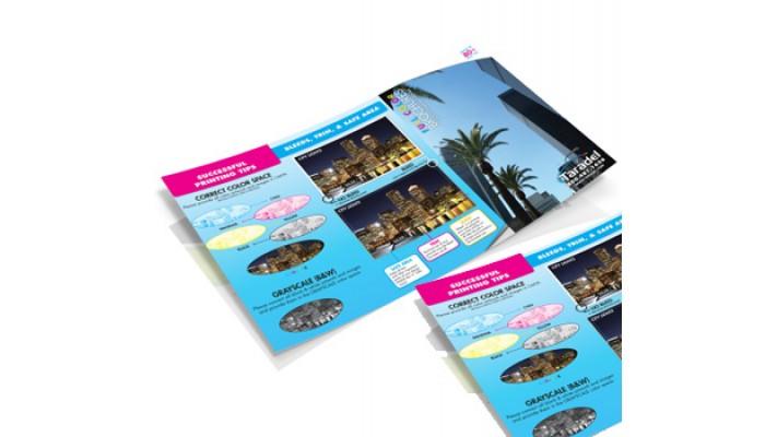 Brochures grand format